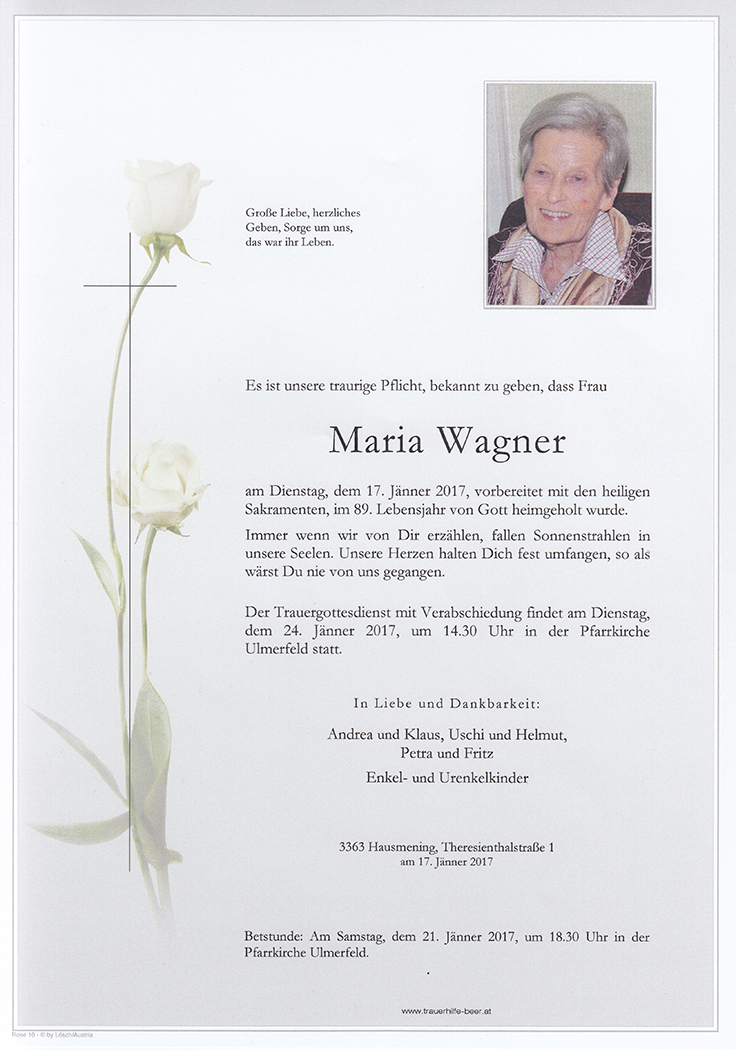 Maria Wagner
