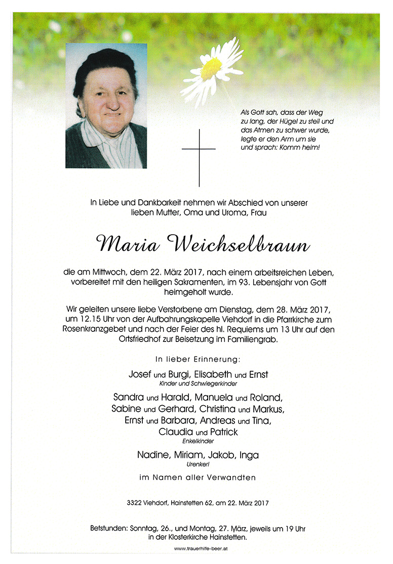 Maria Weichselbraun