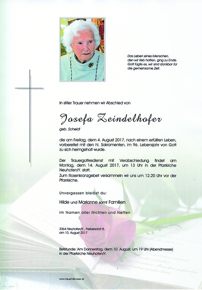 Josefa Zeindelhofer
