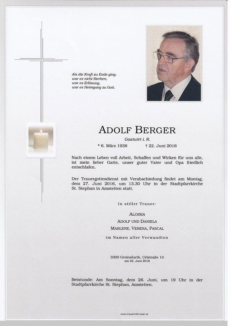 Adolf Berger