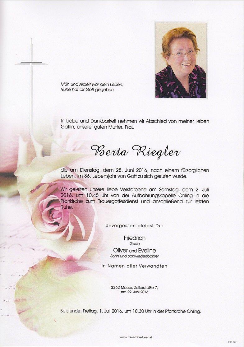 Berta Riegler