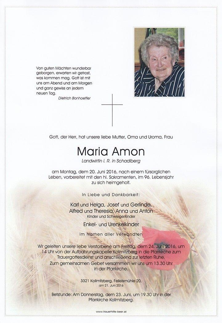 Maria Amon