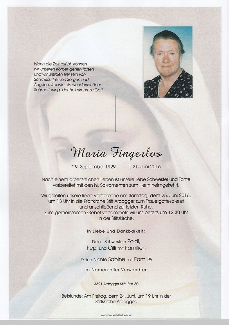 Maria Fingerlos