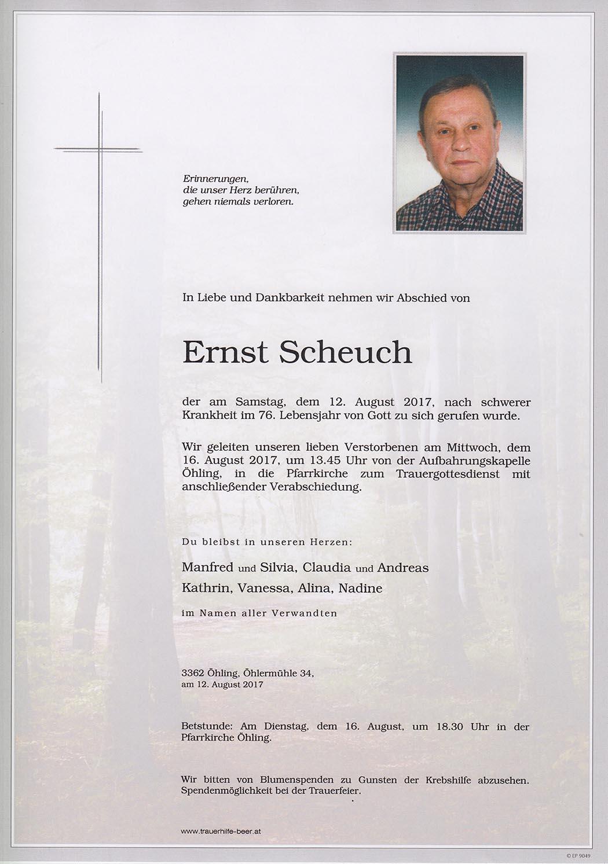 Ernst Scheuch