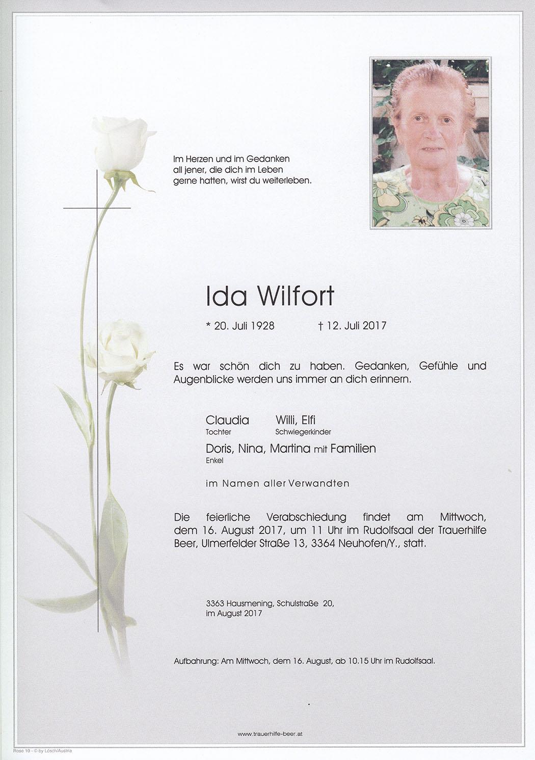 Ida Wilfort