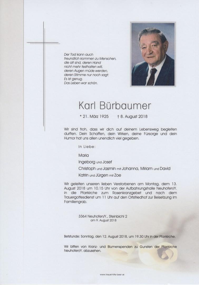 Parte Karl Bürbaumer