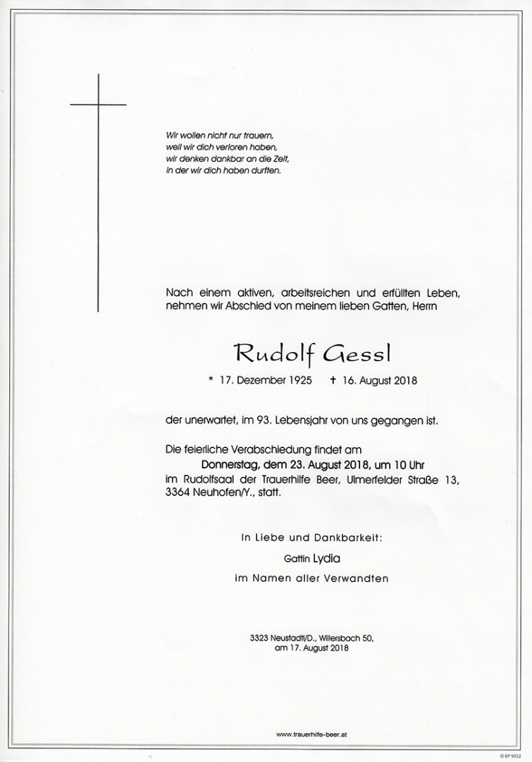 Parte Rudolf Gessl
