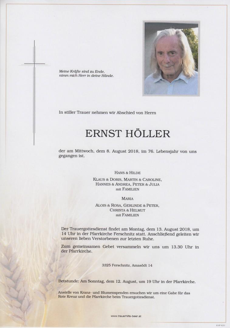 Parte Ernst Höller