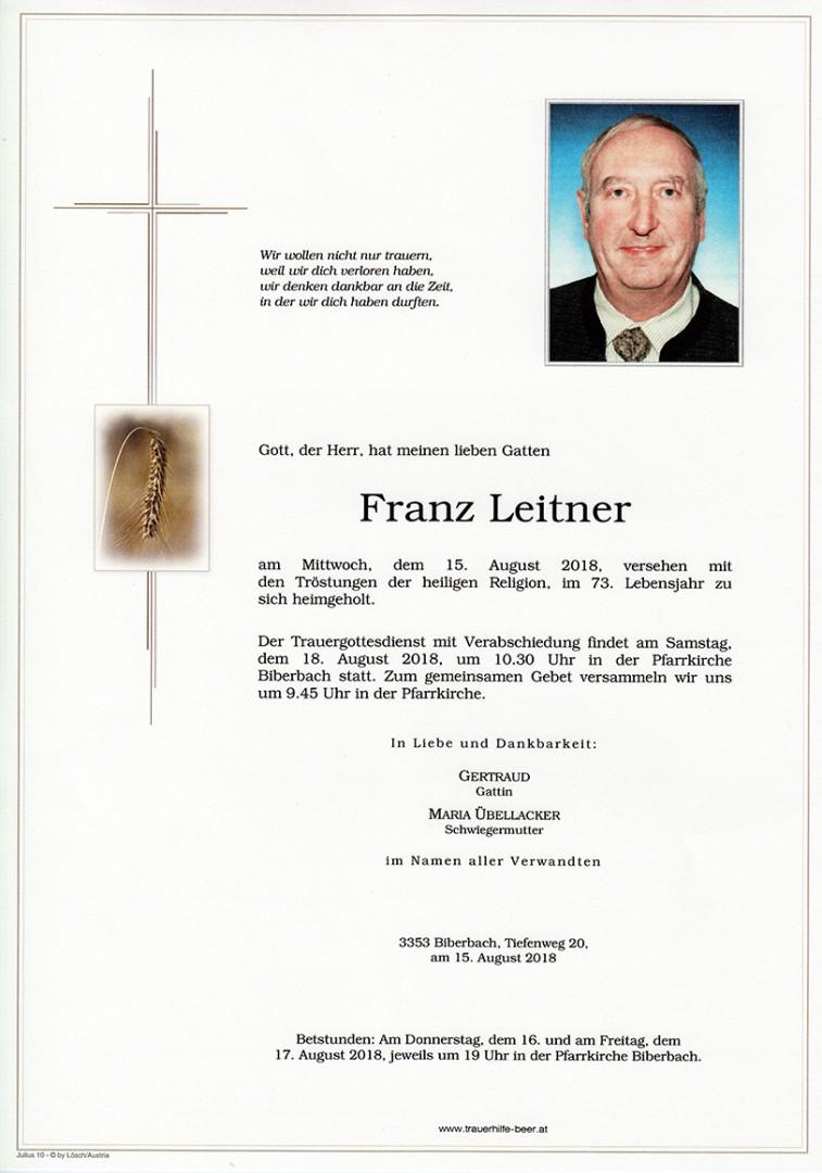 Parte Franz Leitner