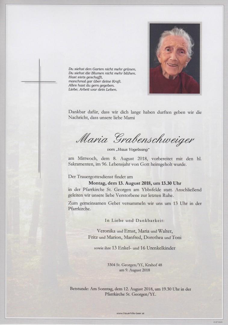 Parte Maria Grabenschweiger