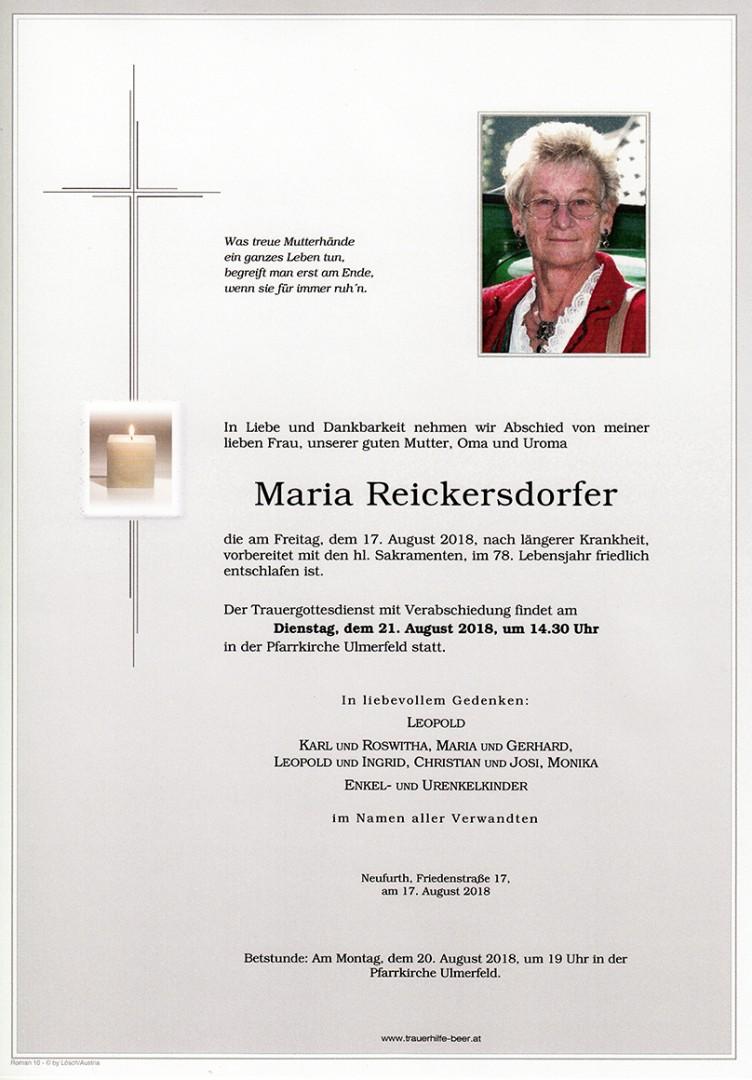 Parte Maria Reickersdorfer