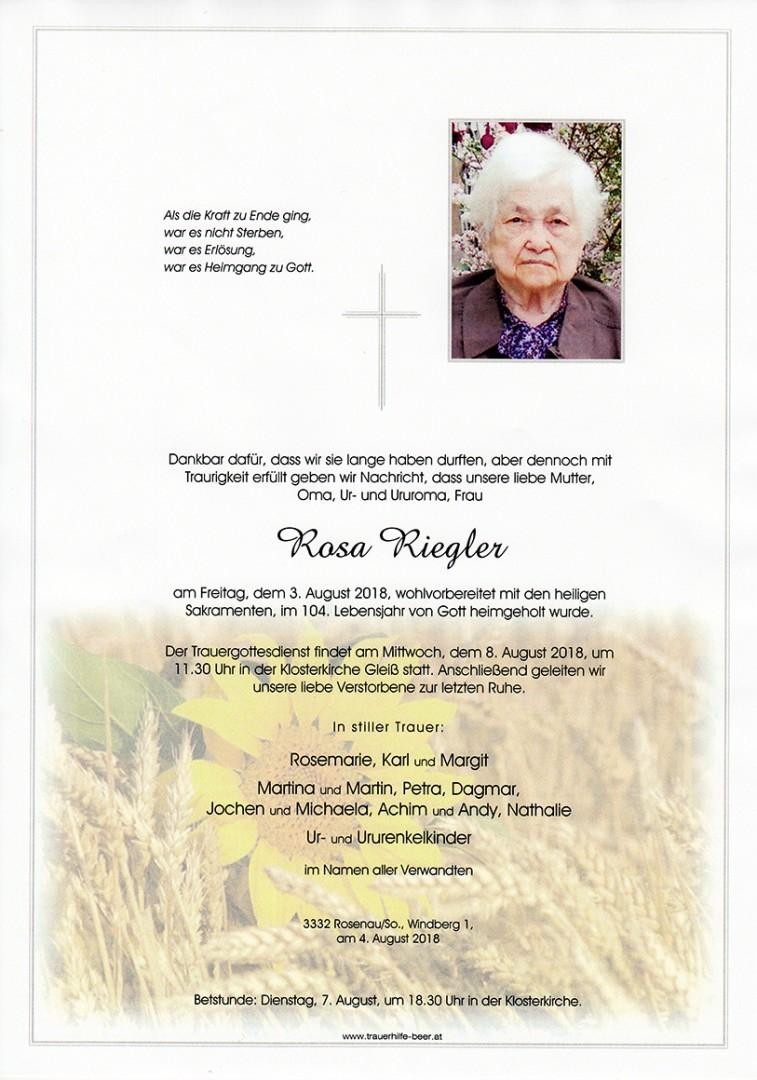 Parte Rosa Riegler