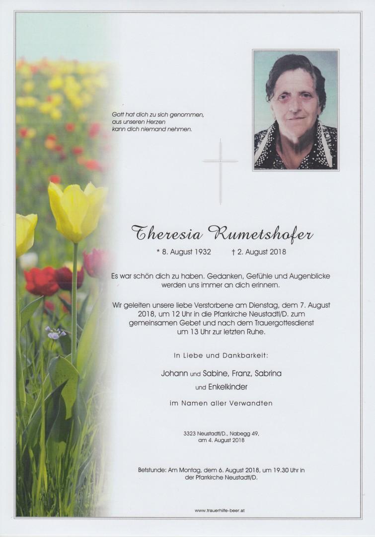 Parte Theresia Rumetshofer