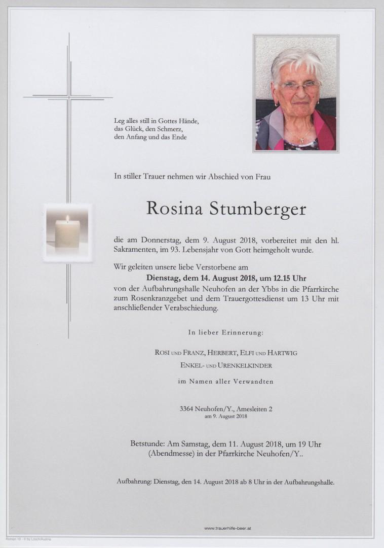 Parte Rosina Stumberger