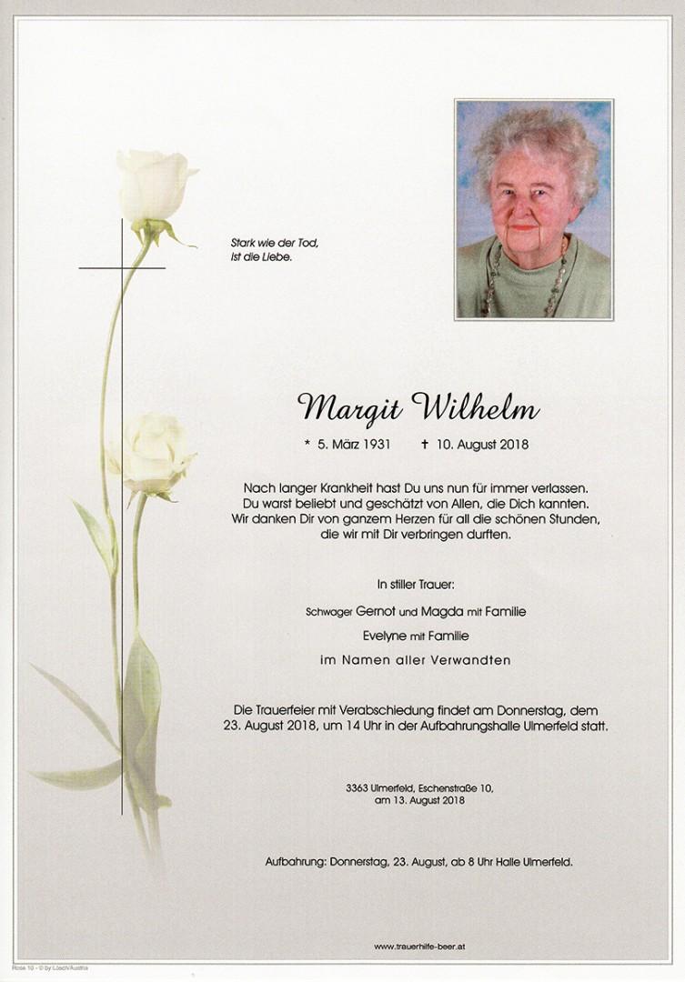 Parte Margit Wilhelm