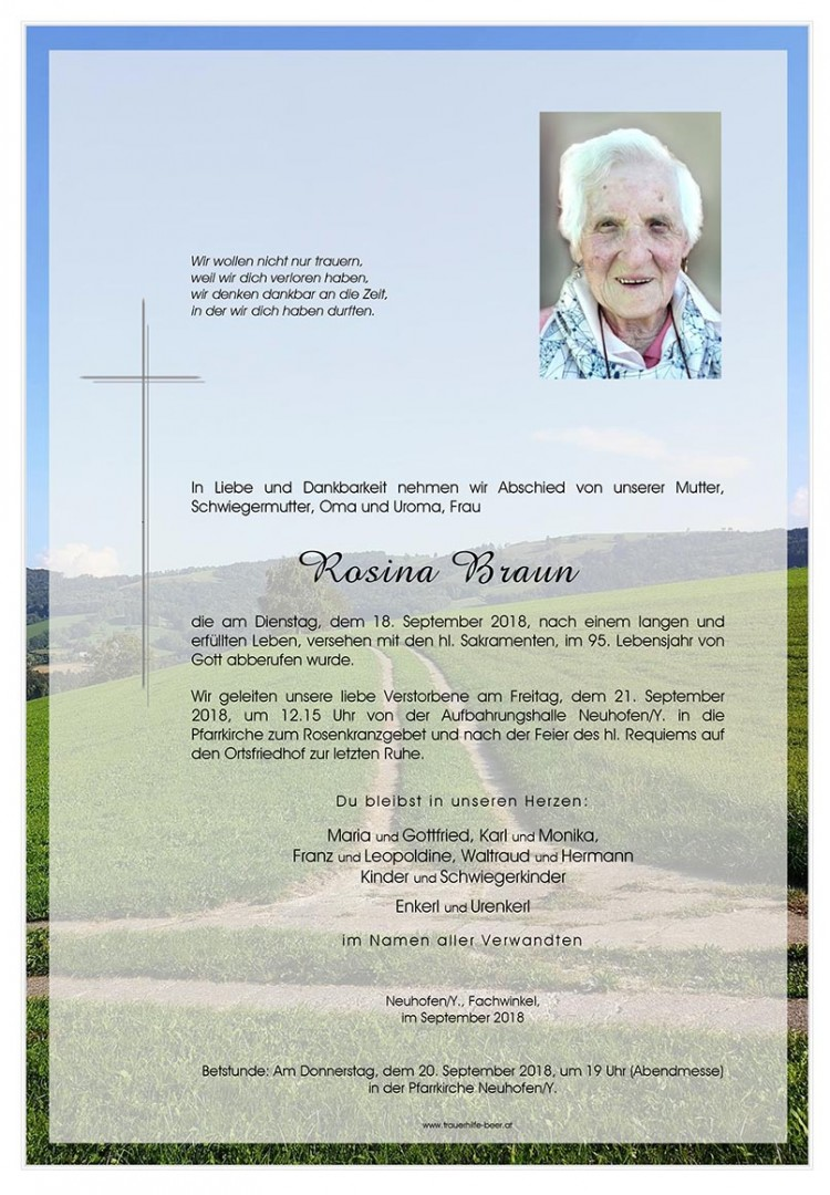 Parte Rosina Braun