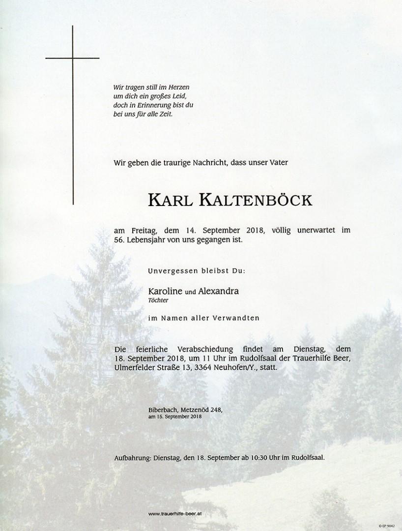 Parte Karl Kaltenböck
