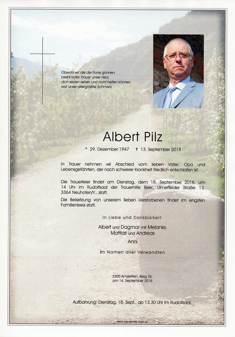 Parte Albert Pilz
