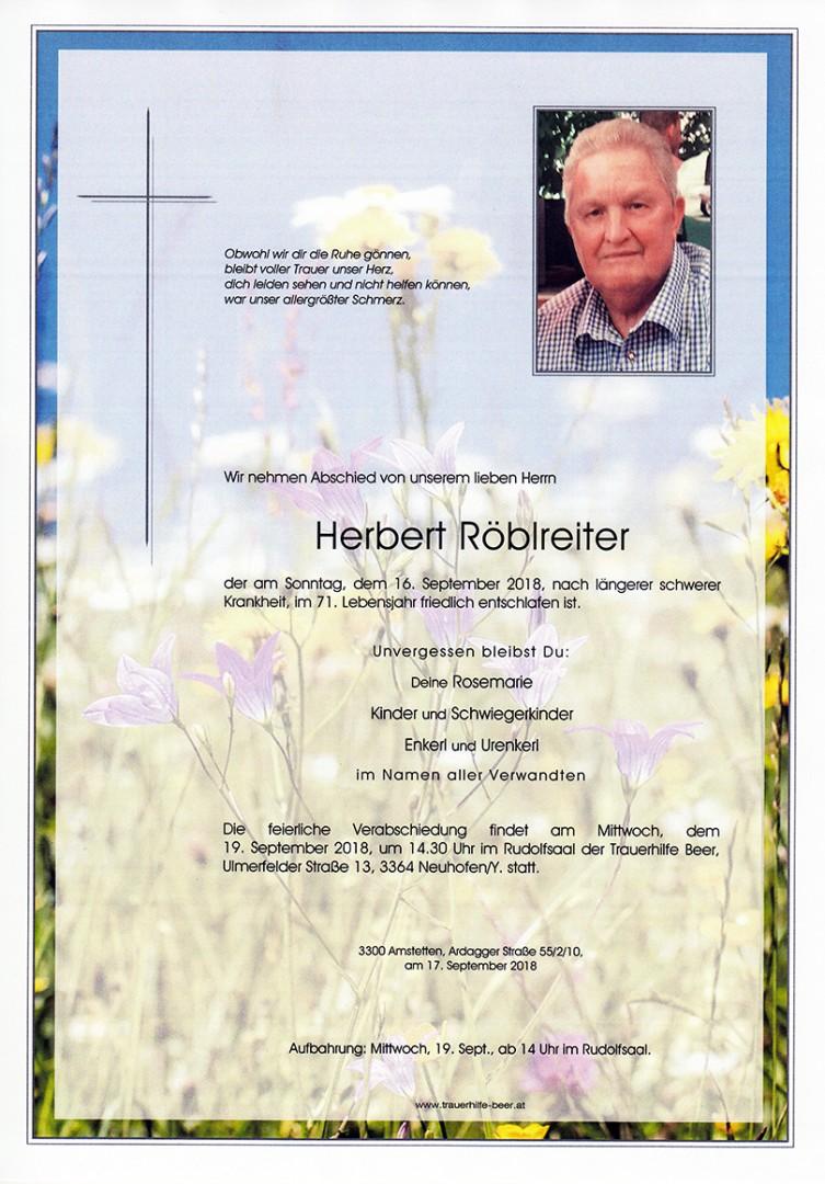 Parte Herbert Röblreiter