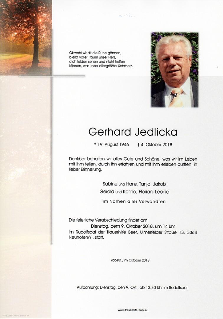 Parte Gerhard Jedlicka