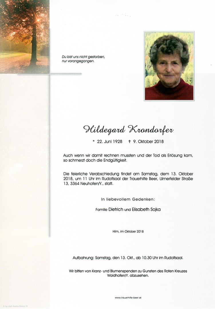 Parte Hildegard Krondorfer