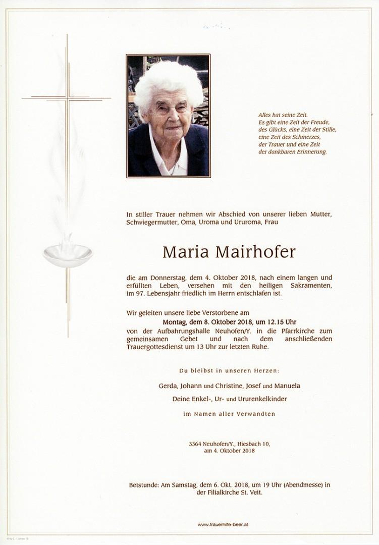 Parte Maria Mairhofer