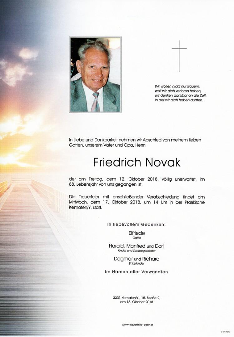 Parte Friedrich Novak