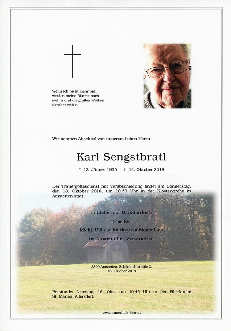 Parte Karl Sengstbratl