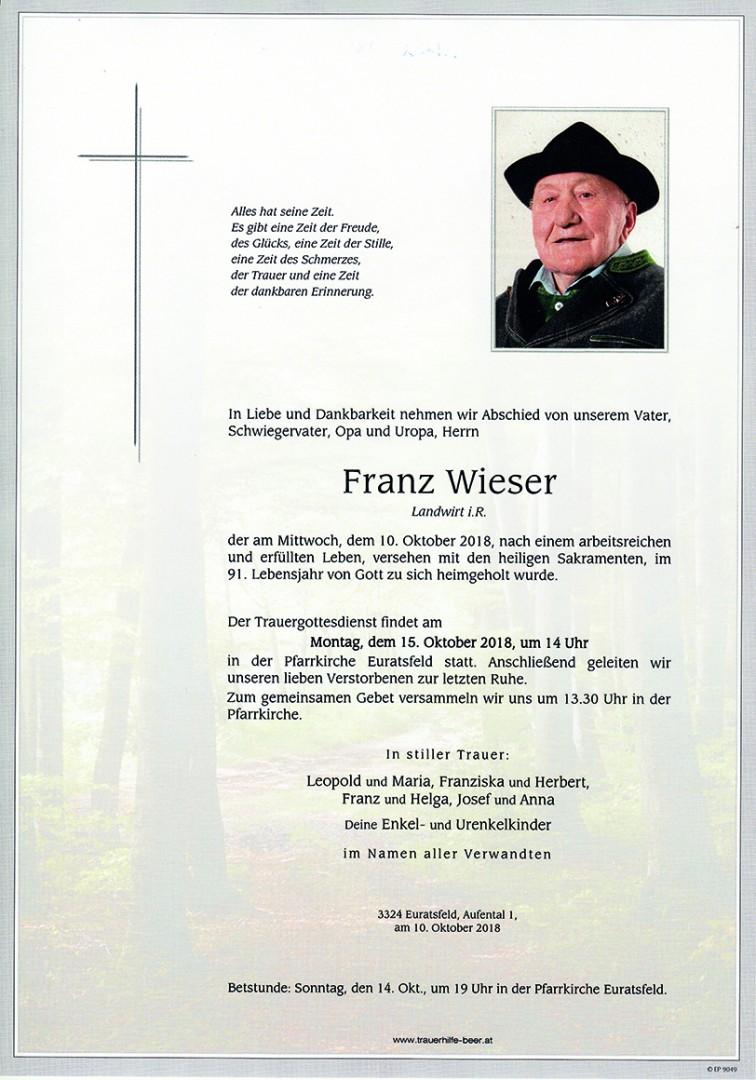 Parte Franz Wieser