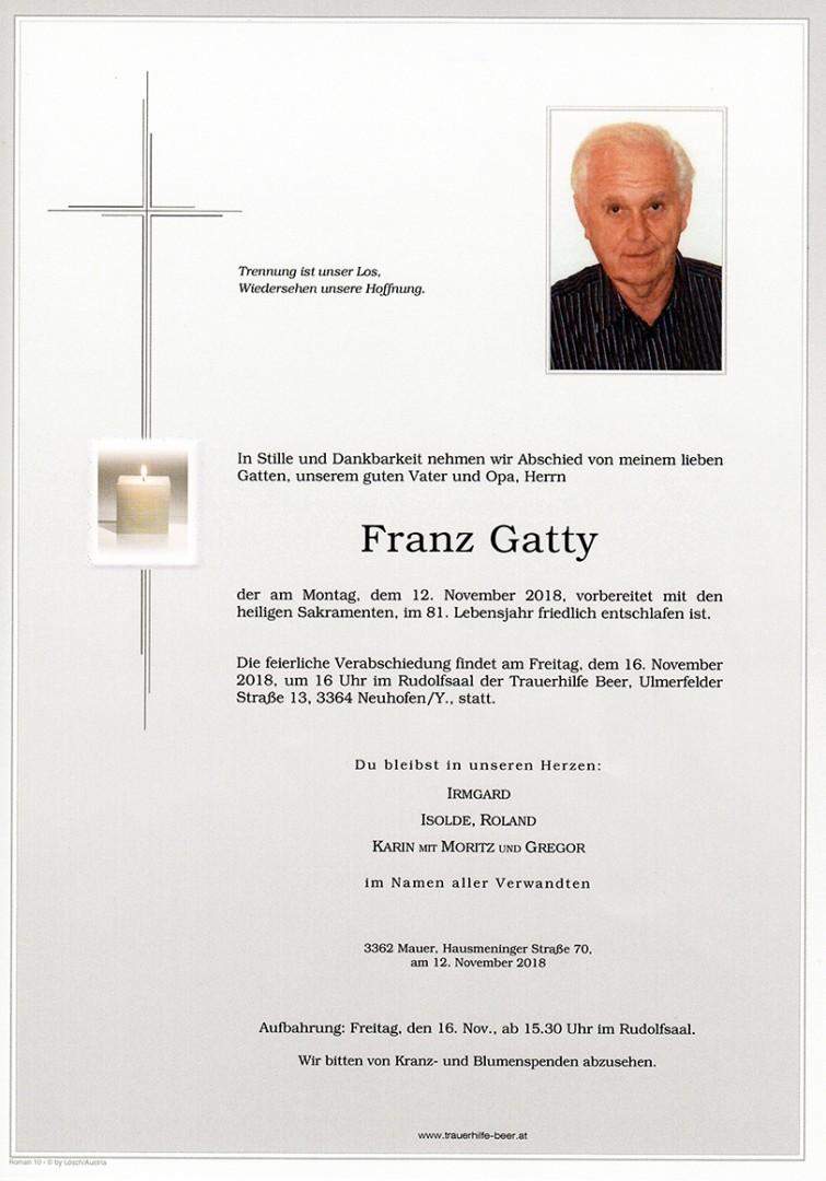 Parte Franz Gatty