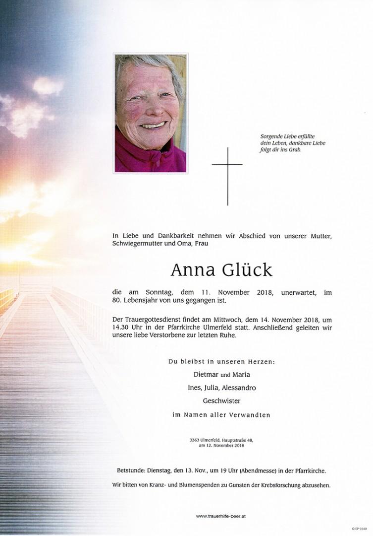 Parte Anna Glück