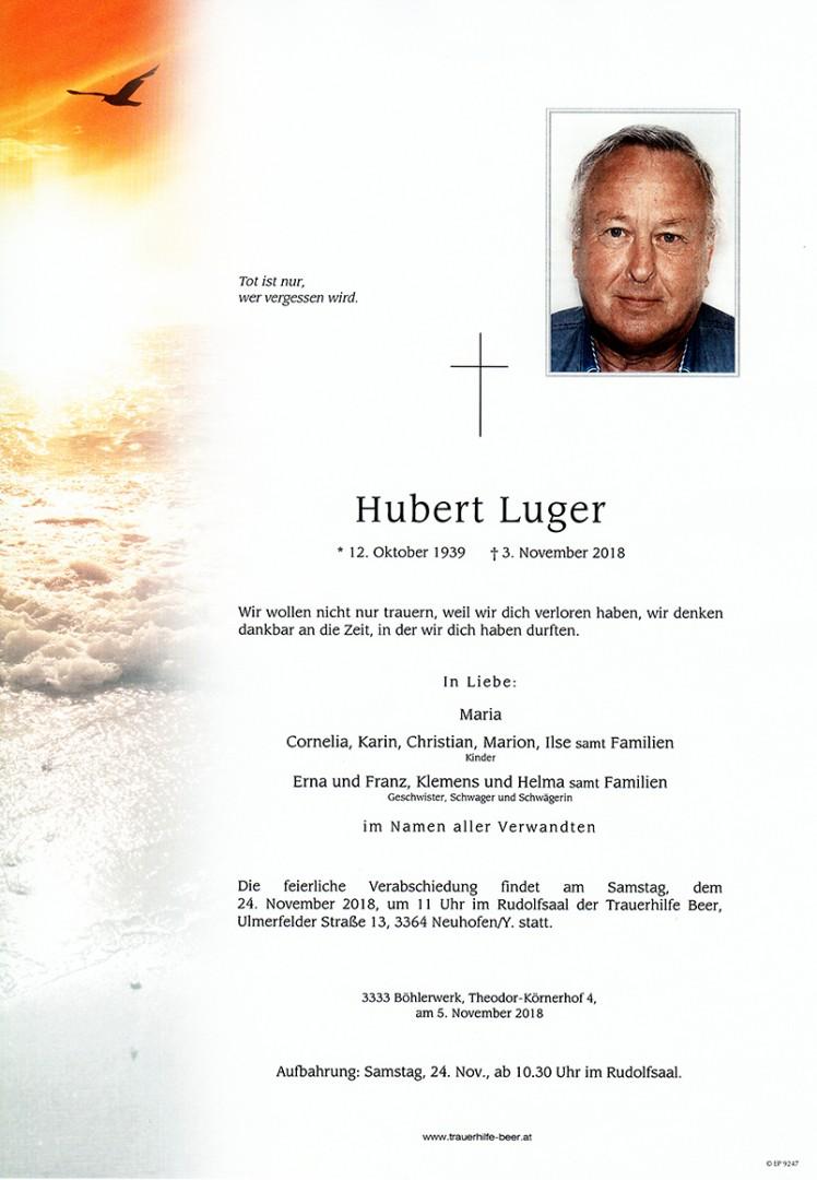 Parte Hubert Luger