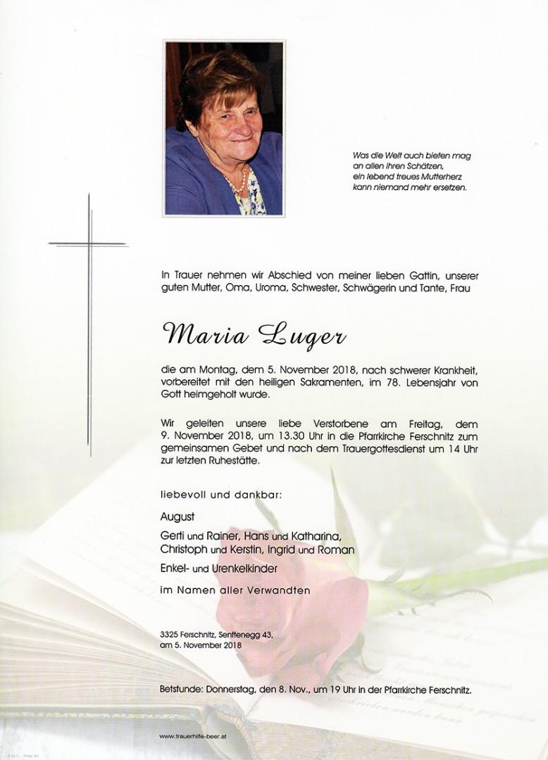 Parte Maria Luger
