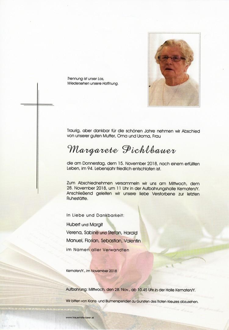 Parte Margarete Pichlbauer