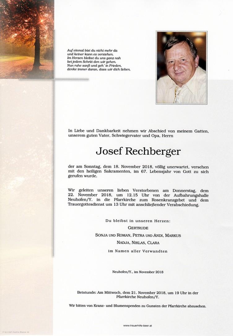 Parte Josef Rechberger
