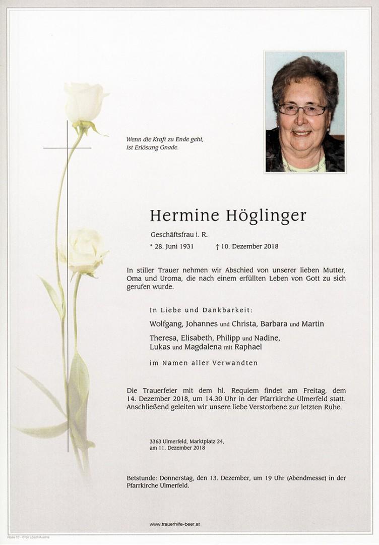 Parte Hermine Höglinger