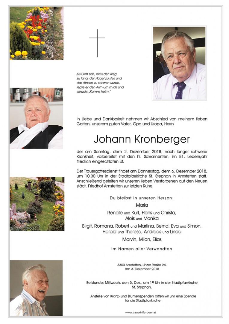 Parte Johann Kronberger