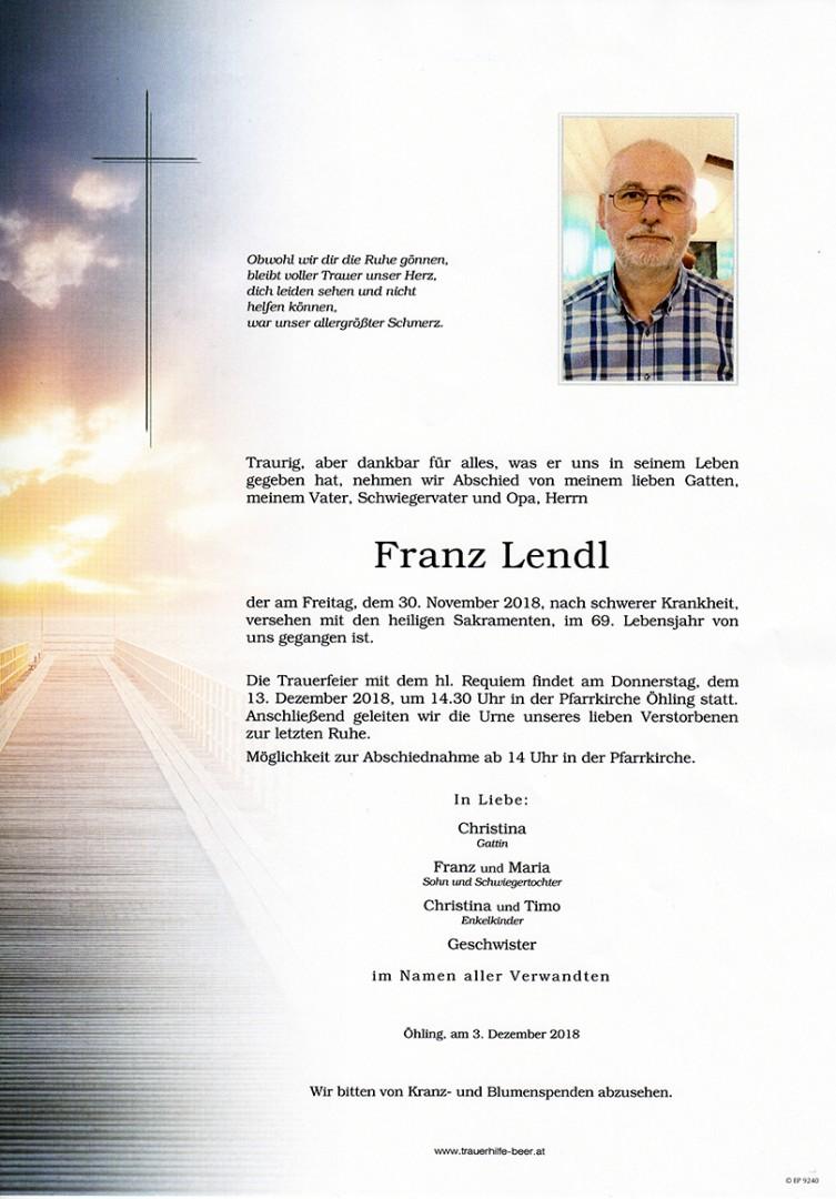 Parte Franz Lendl