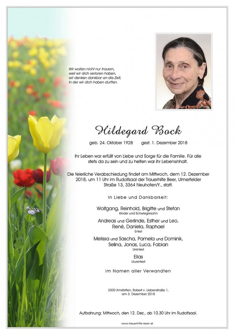 Parte Hildegard Bock