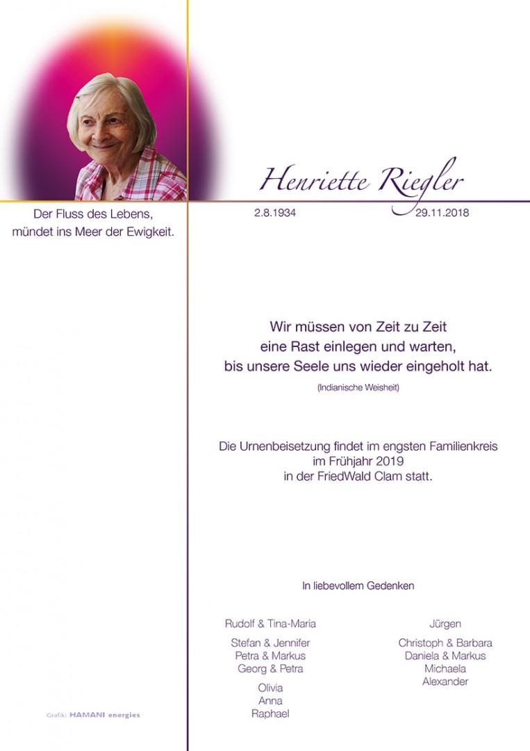 Parte Henriette Riegler