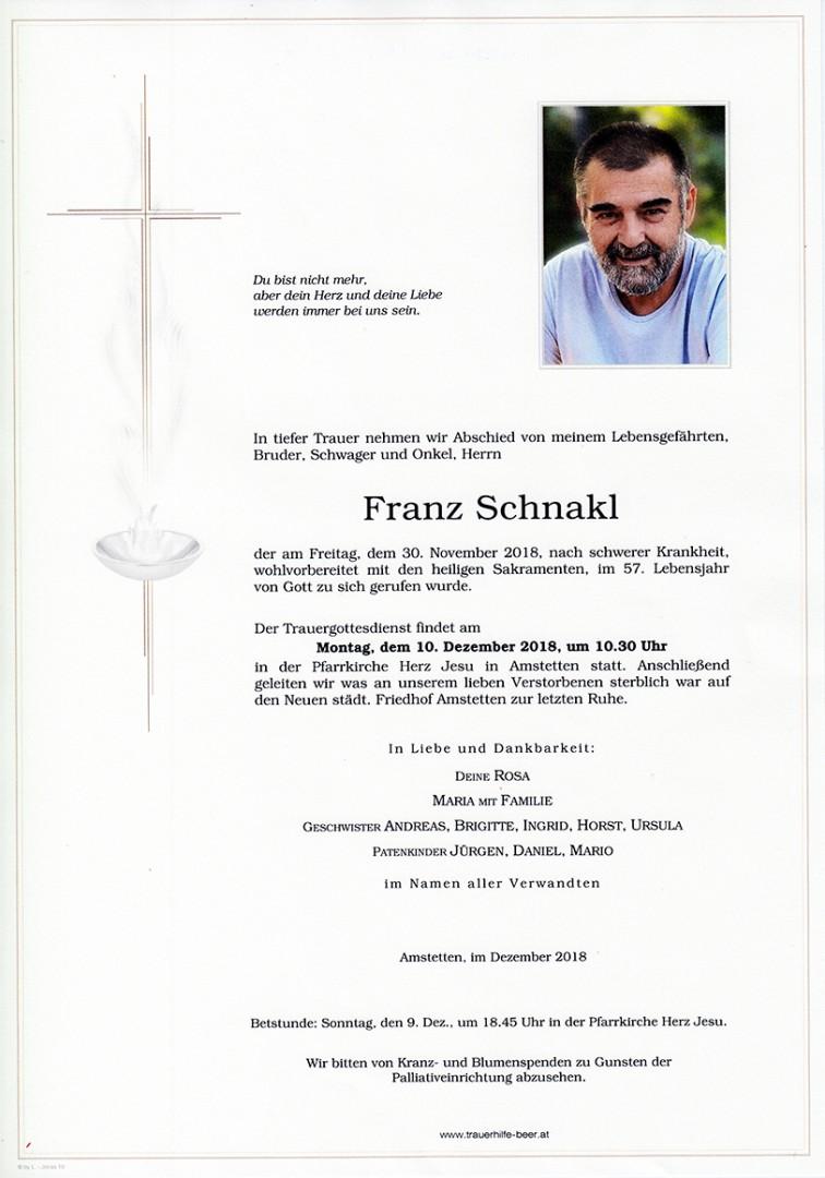 Parte Franz Schnakl