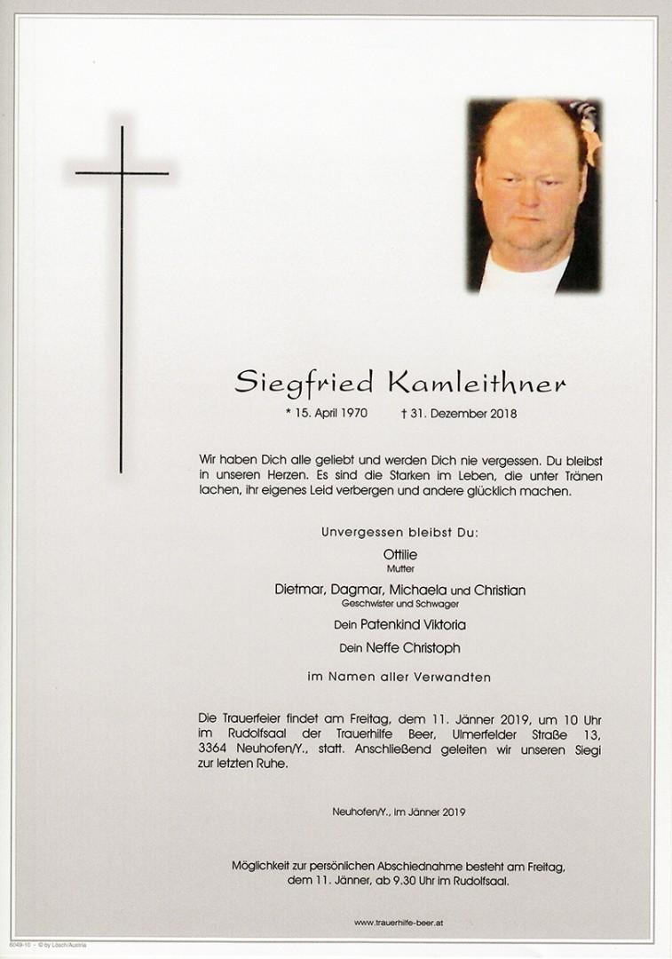 Parte Siegfried Kamleithner