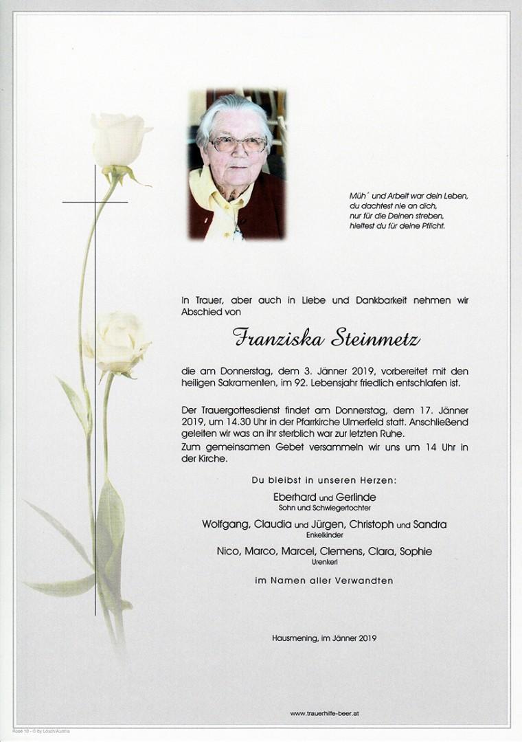 Parte Franziska Steinmetz