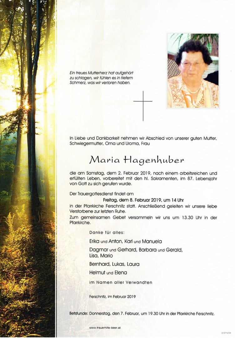 Parte Maria Hagenhuber
