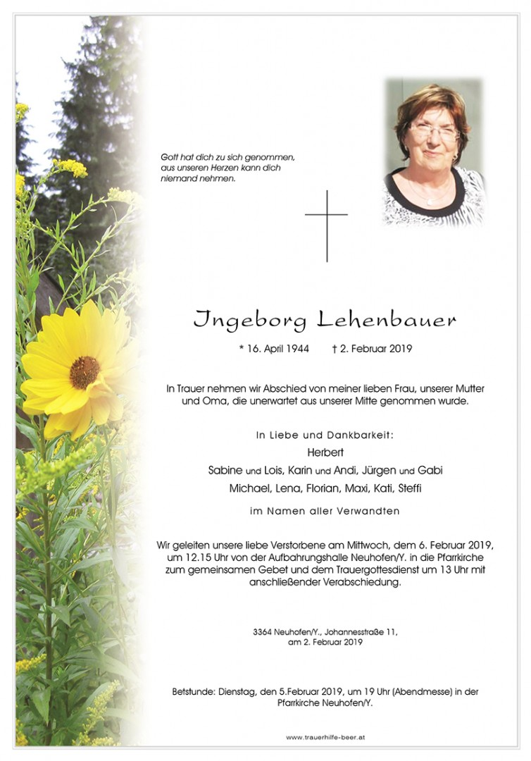 Parte Ingeborg Lehenbauer