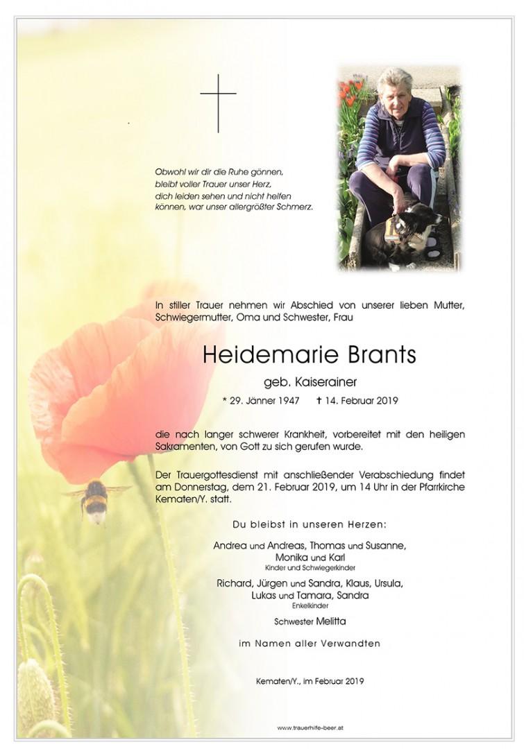Parte Heidemarie Brants