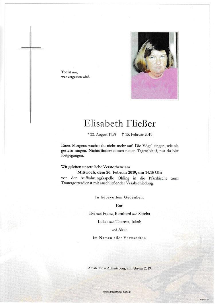 Parte Elisabeth Fließer