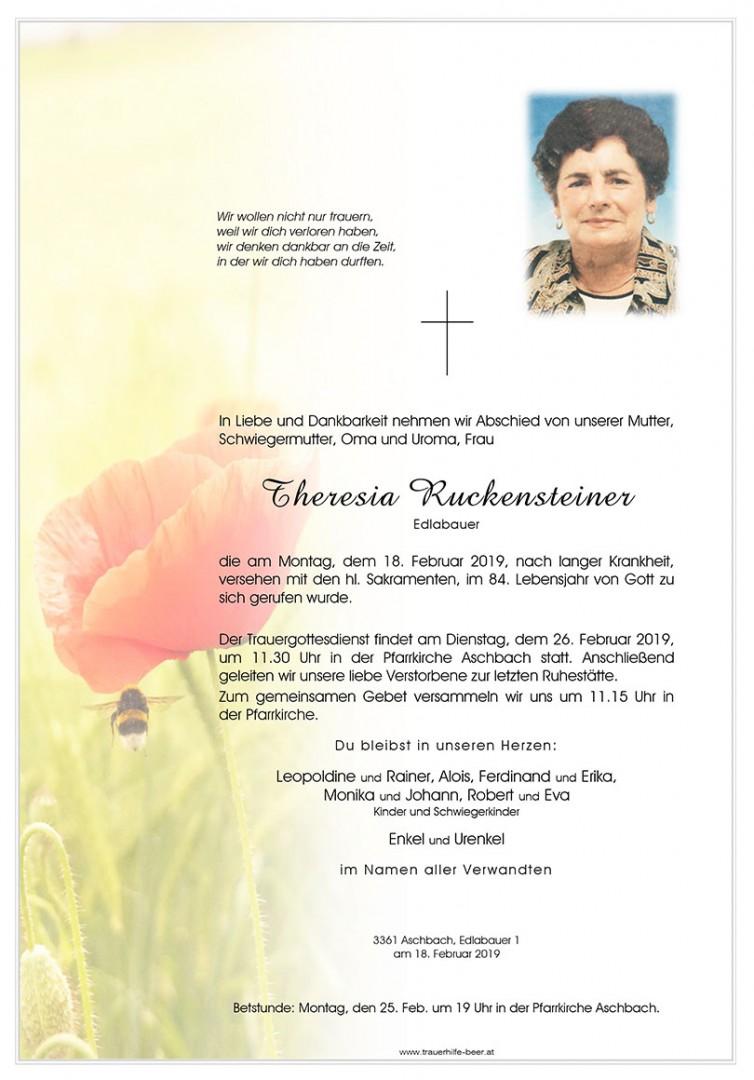 Parte Theresia Ruckensteiner