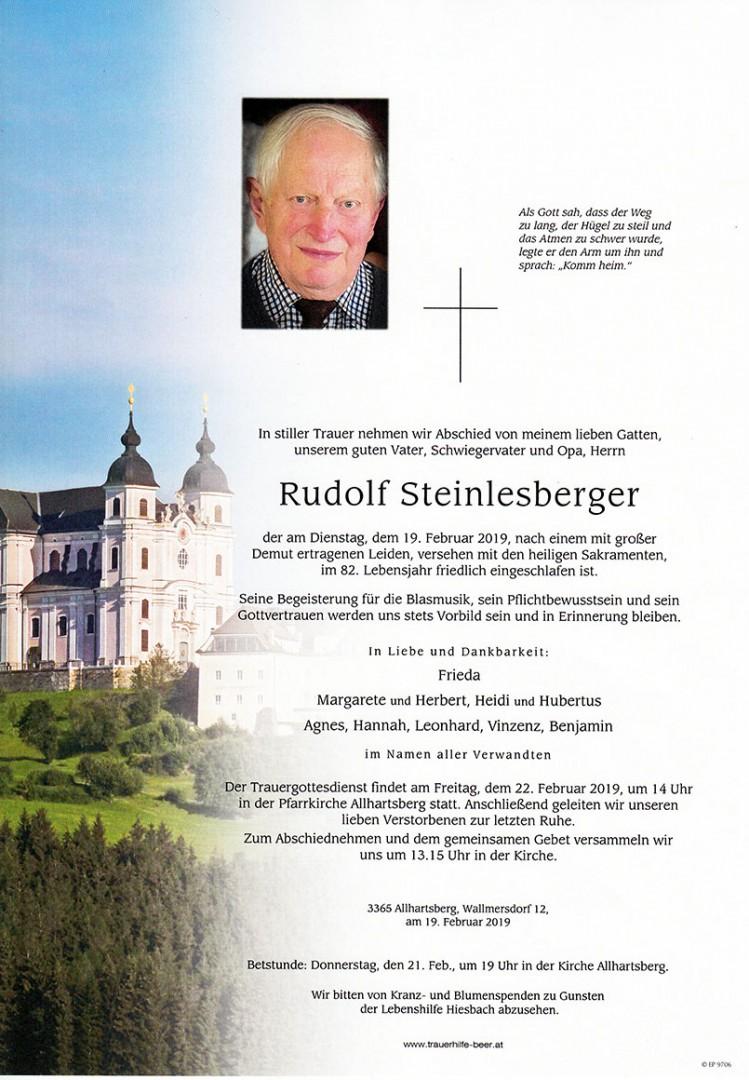 Parte Rudolf Steinlesberger