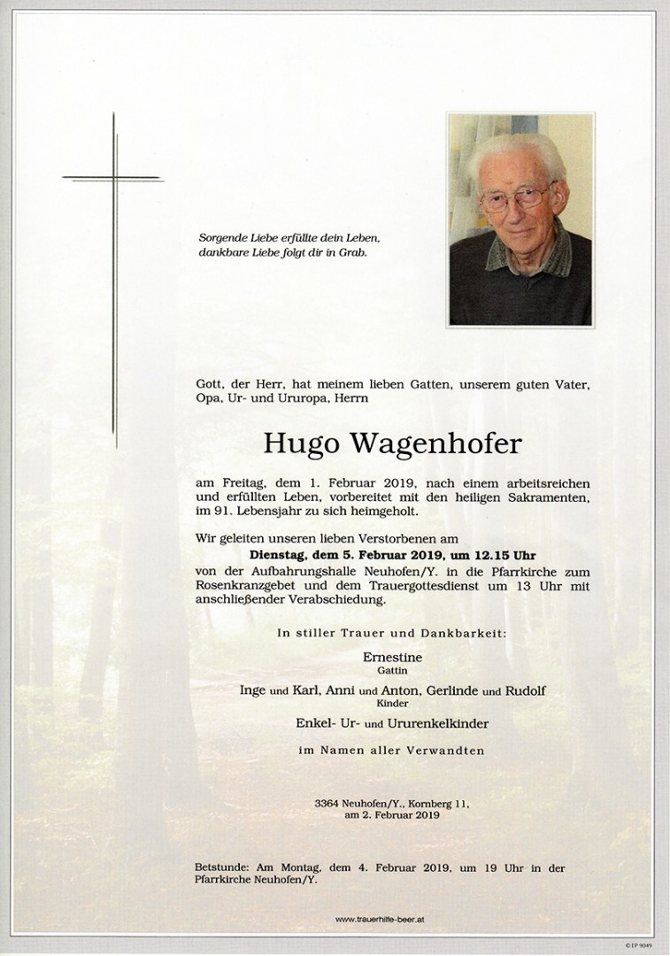 Parte Hugo Wagenhofer